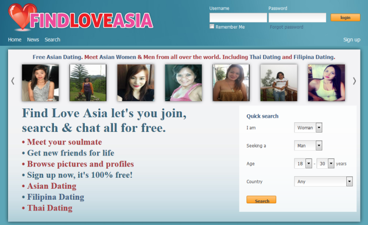 100 free dating in asia
